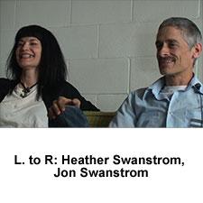Jon and  Heather Swanstrom